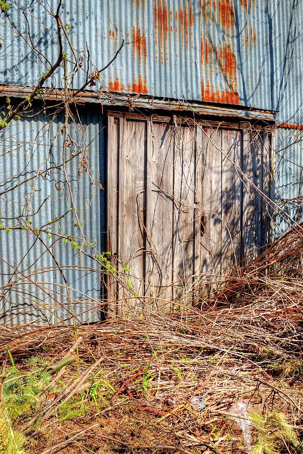 Sliding Barn Door Photograph