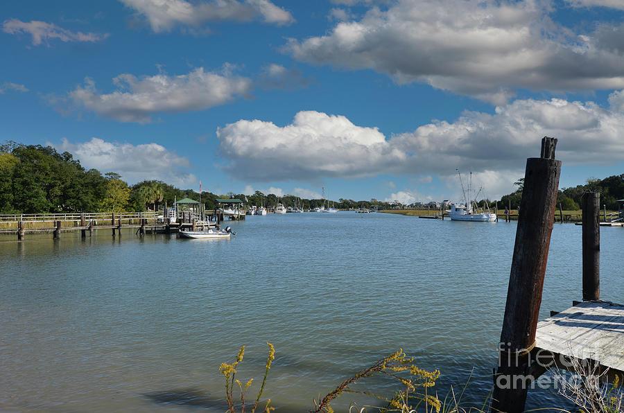 Small Fishing Town - Mcclellanville South Carolina Photograph