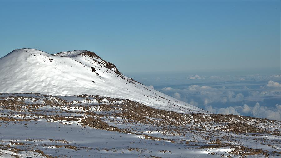 Small Puu On Mauna Kea Photograph