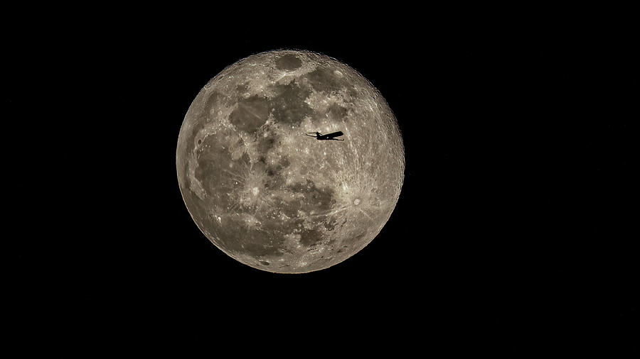 Big Moon Small World Photograph