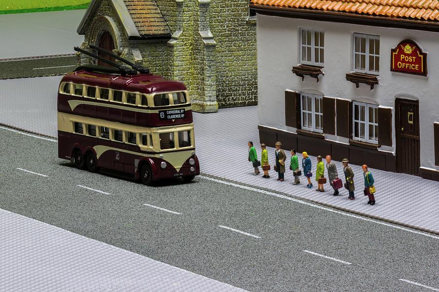 Smallville Trolleybus Photograph