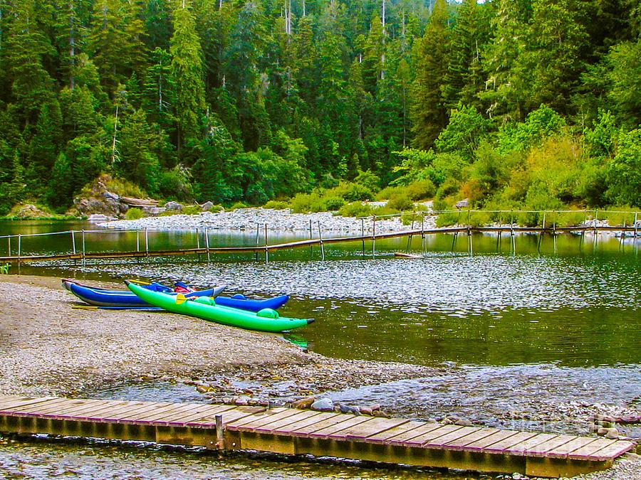 Smith River Kayaking Photograph