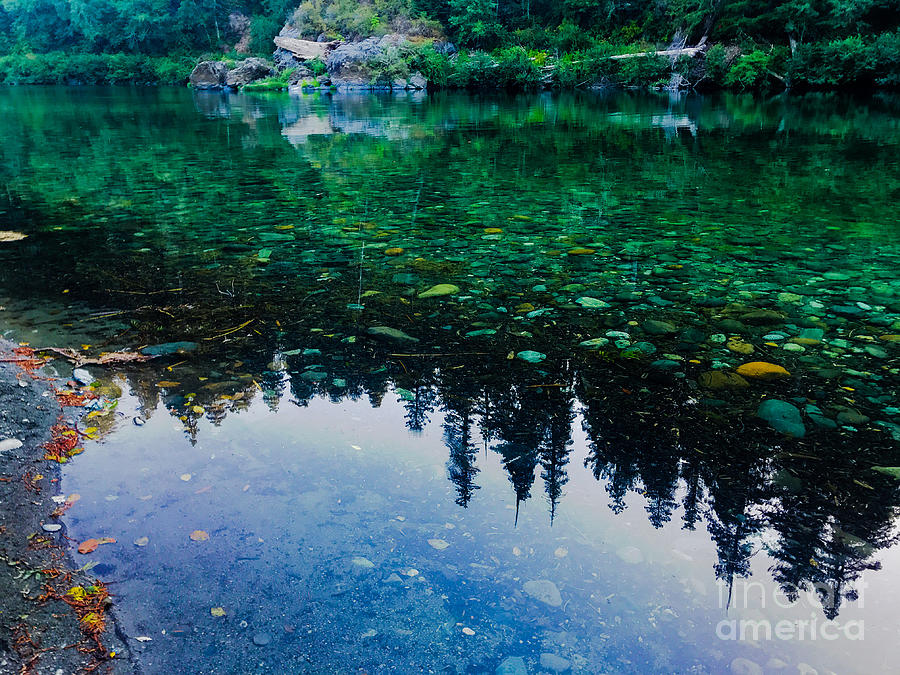 Smith River Reflections Photograph