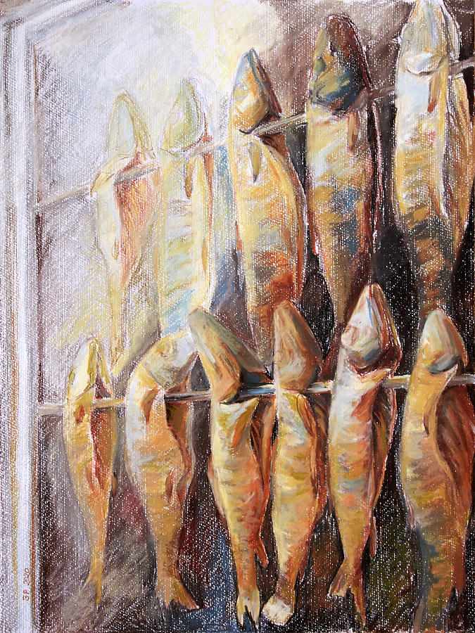 Trap Pastel - Smoked Fish by Barbara Pommerenke
