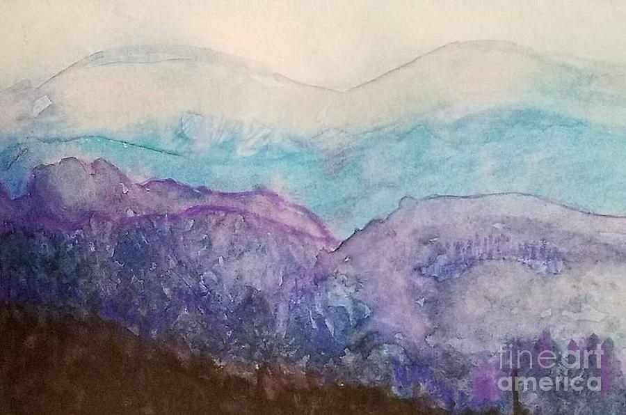 Smoky Mountains Painting
