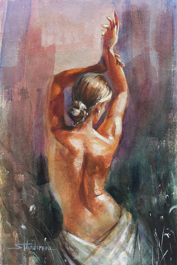 Dancer Painting - Smooth Moves by Steve Henderson