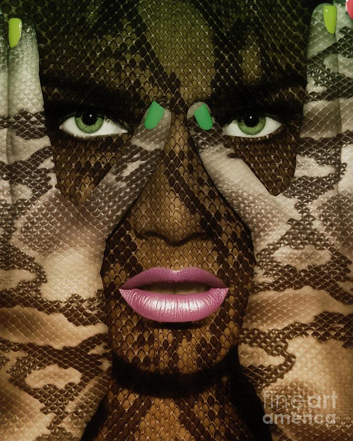 Snake Girl Photograph