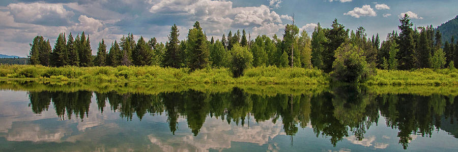 Snake River Reflections Photograph