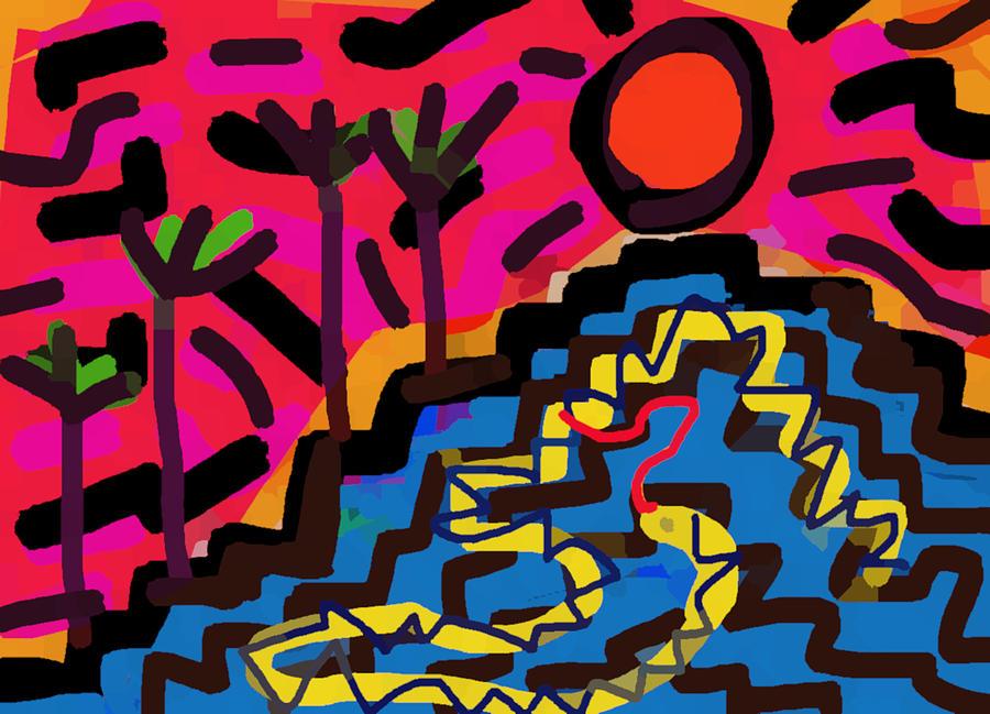 Snakes of Uxmal  by Paul Sutcliffe
