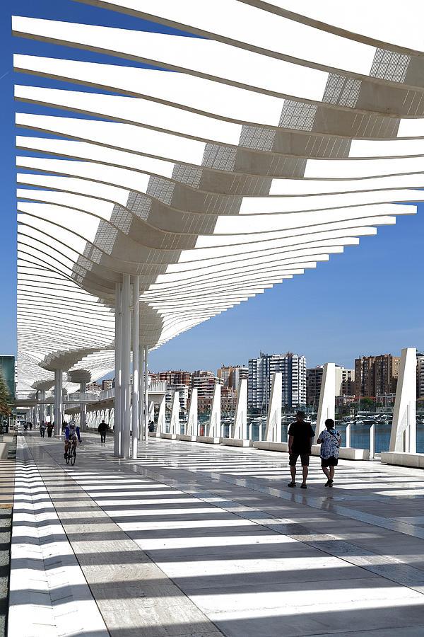 Snaking Malaga Architecture Photograph