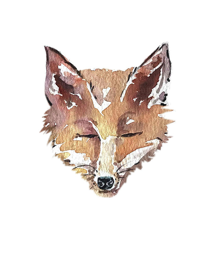 Sneaky Fox Mask Painting