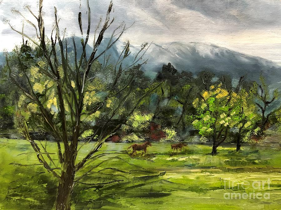 Snoqualmie Valley Part 1 Painting