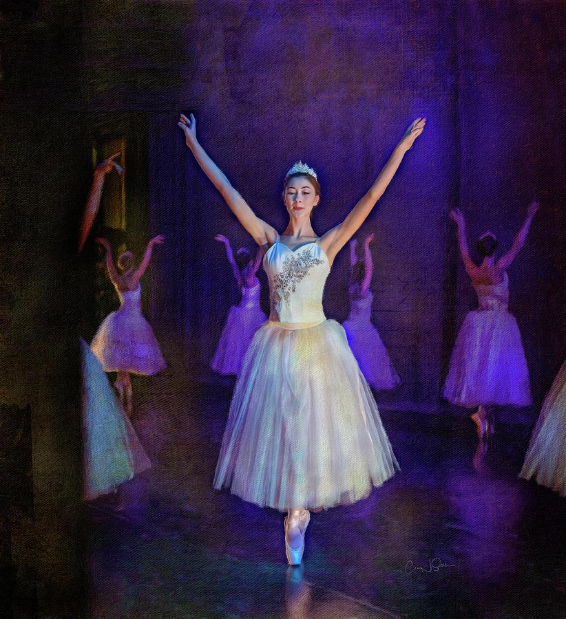 Snow Ballerina by Craig J Satterlee