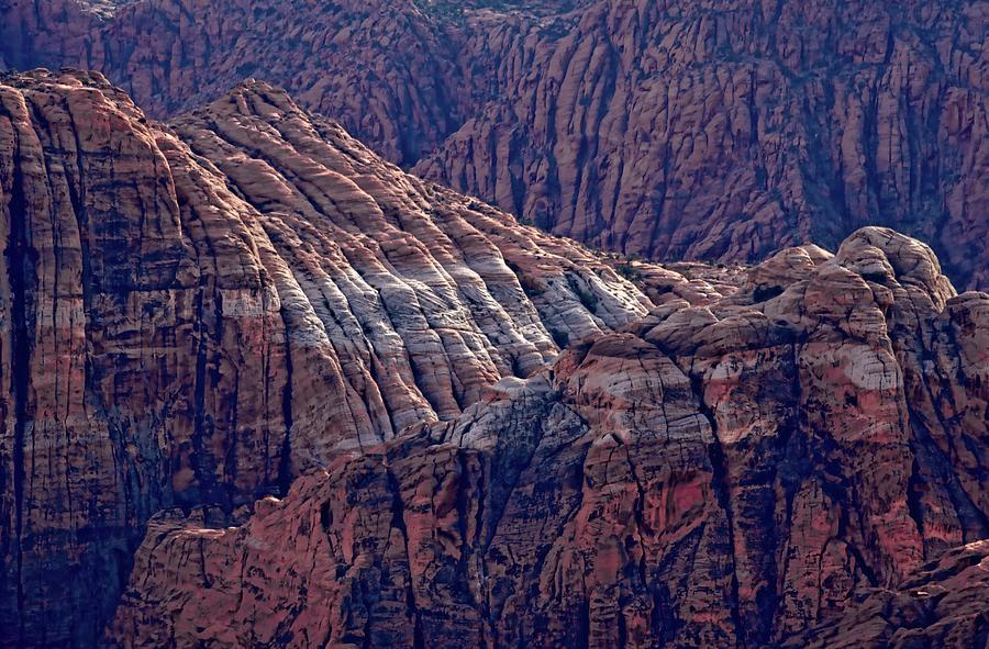 Snow Canyon Magnificence Photograph