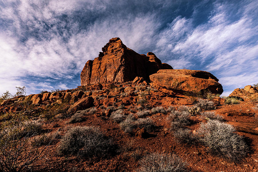 Nevada Photograph - Snow Canyon State Park, St George, Utah by Paul Malen
