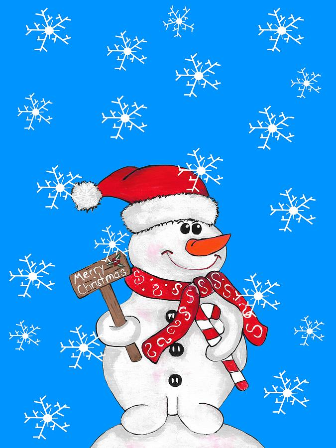 Snow Day For A Snowman by Kathleen Sartoris