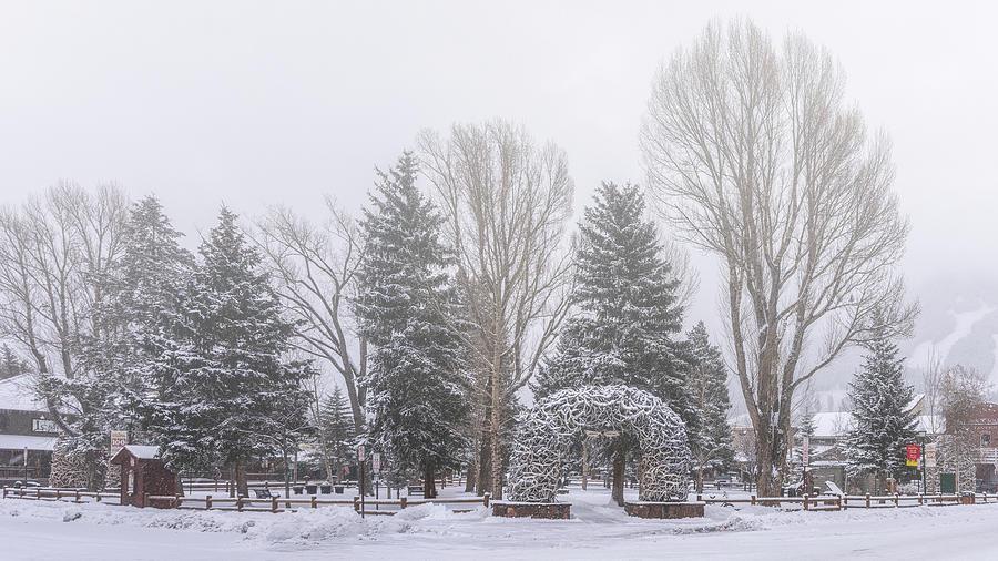 Snow Globe by Robert Fawcett