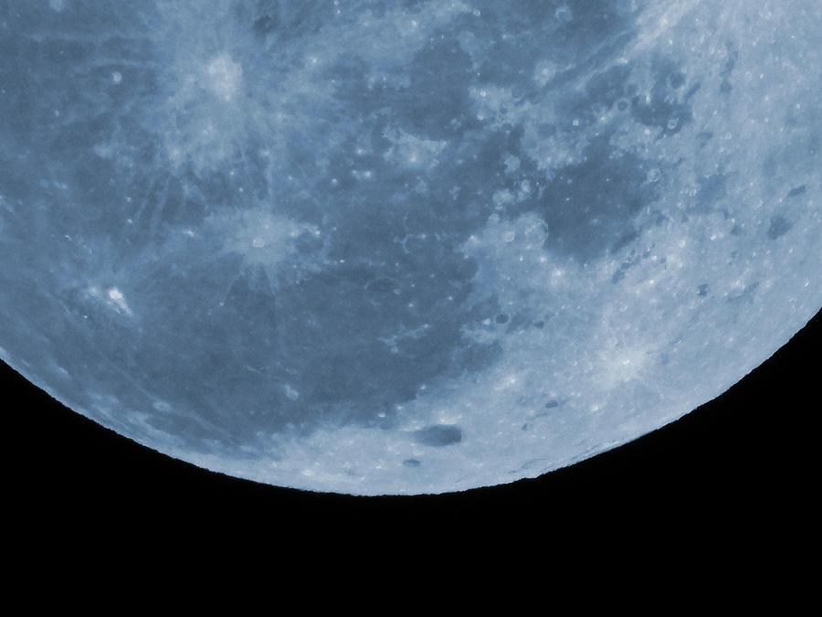 Snow Moon Coming At You Photograph