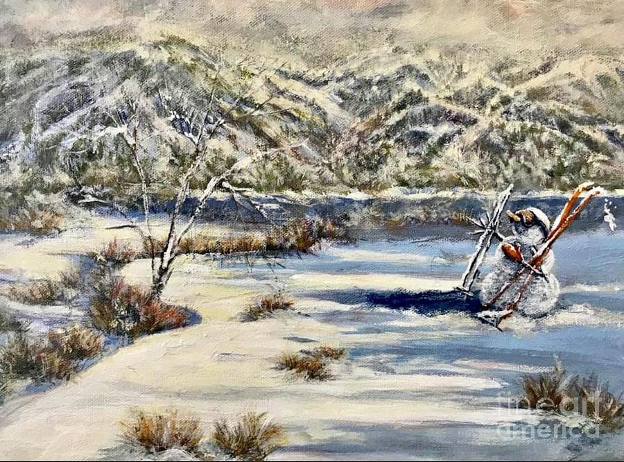 Snow on the Mountain by Gail Allen