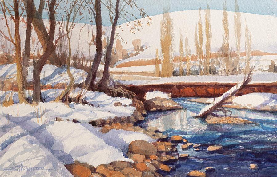 Snow Retreat Painting