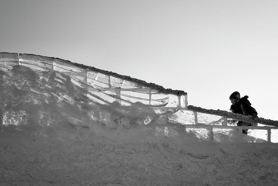 Snow Slide Climber by John Williams