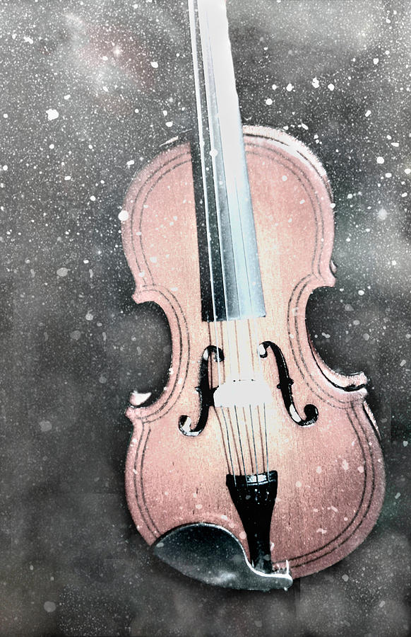Snow Violin by Rosalie Scanlon