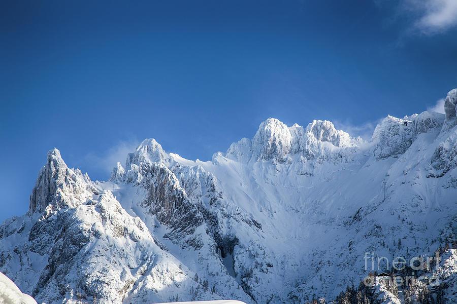 snowy Karwendel by Fabian Roessler