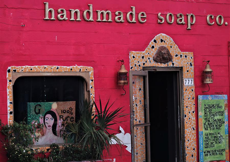 Soap Company Facade by Christopher James