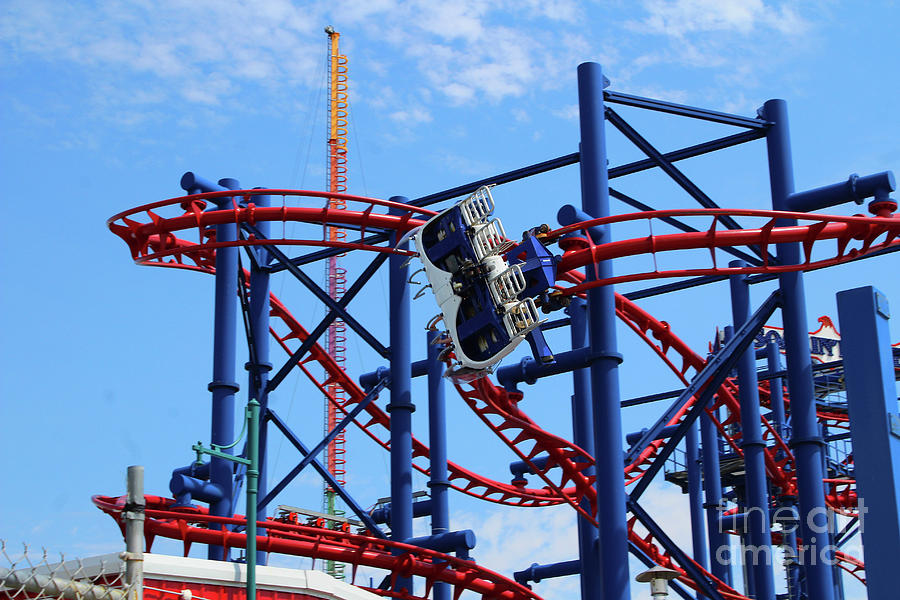 Soarin' Eagle Ride - Coney Island by Doc Braham
