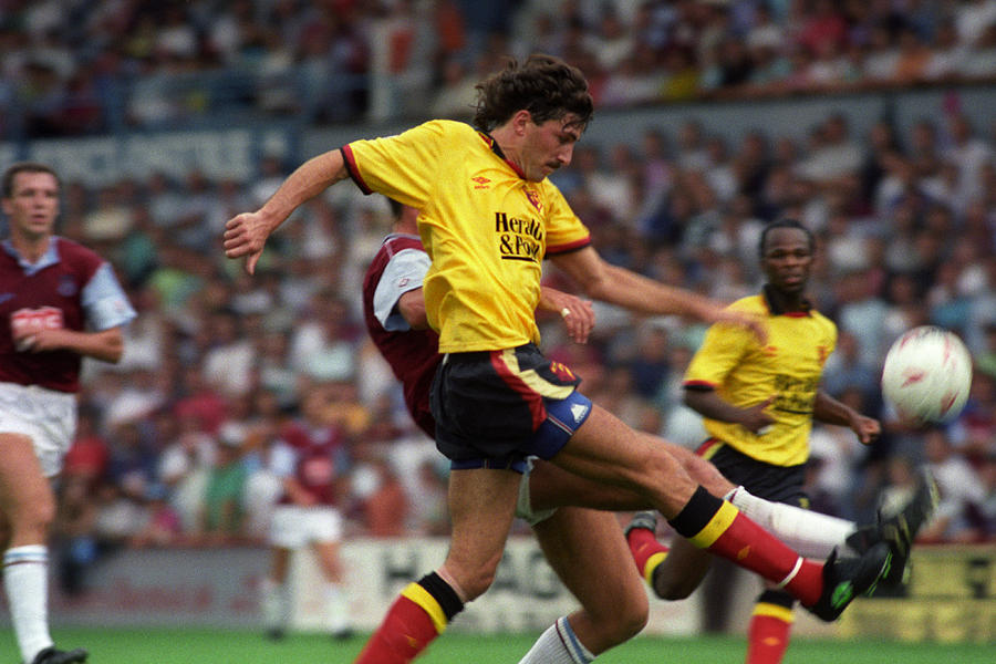 Soccer - Barclays League Division Two - West Ham United v Watford - Upton Park Photograph by PA Images Archive