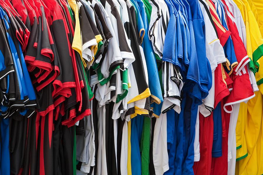 Soccer Jerseys Photograph by Andyworks