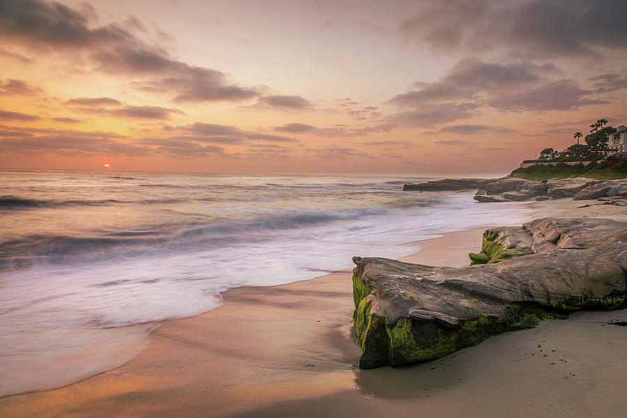 Soft And Warm At Windansea Photograph