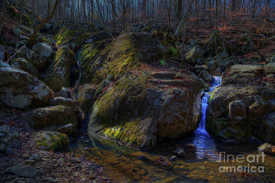 Hdr Photograph - Soft Water by Larry Braun