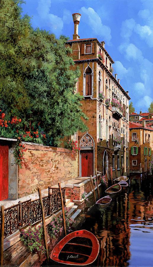 sole a Venezia Painting