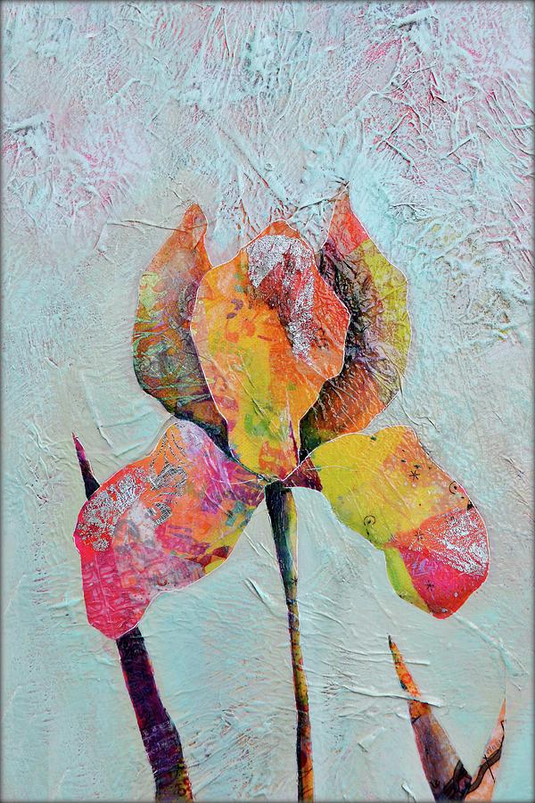 Solo Iris II Painting