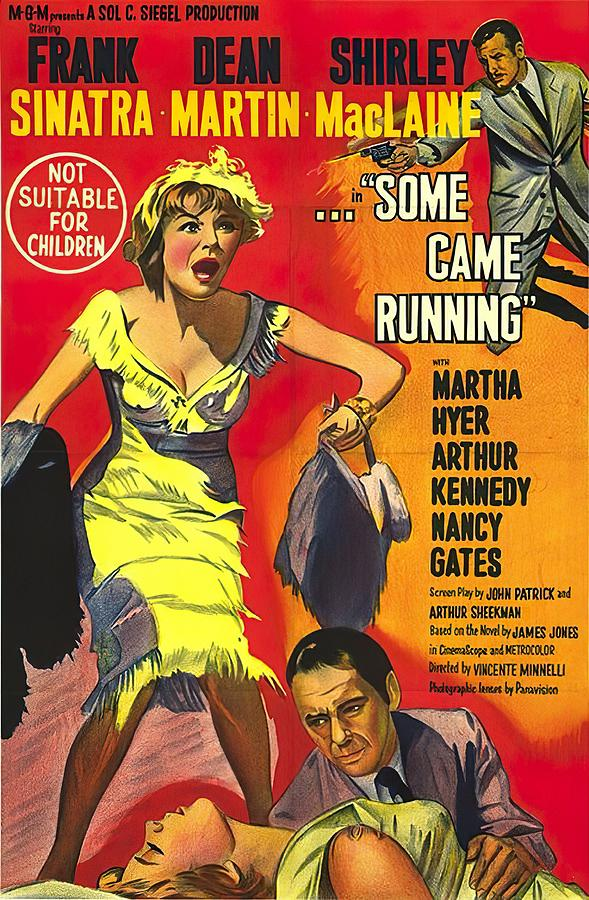 some Came Running, With Frank Sinatra And Shirley Maclaine, 1958 Mixed Media