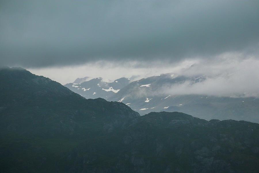 Some Glacier Bay Mountains Photograph