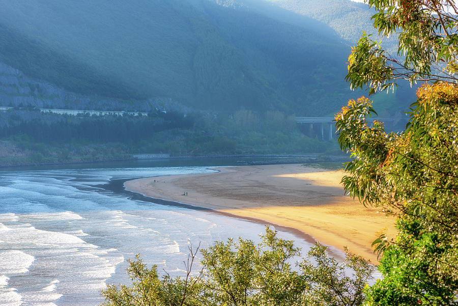 Color Photograph - Sonabia Beach In Cantabria by Vicen Photography