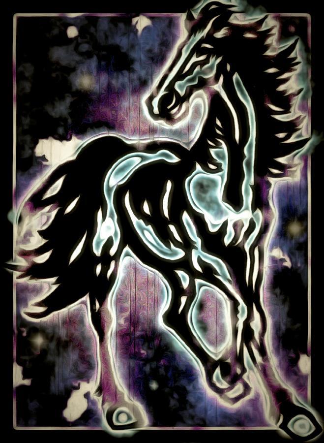 Sonic Horse Digital Art