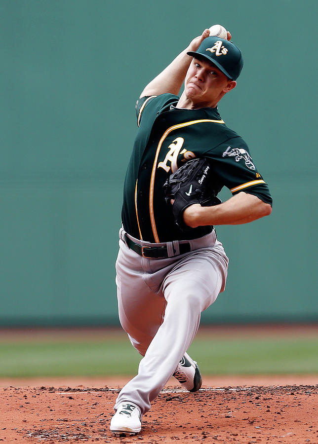 Sonny Gray Photograph by Jim Rogash