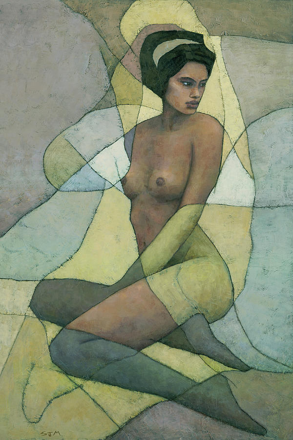 Female Nude Painting - Sonora by Steve Mitchell