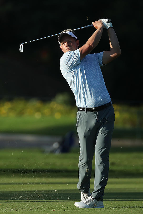 Sony Open In Hawaii - Round Two Photograph by Gregory Shamus