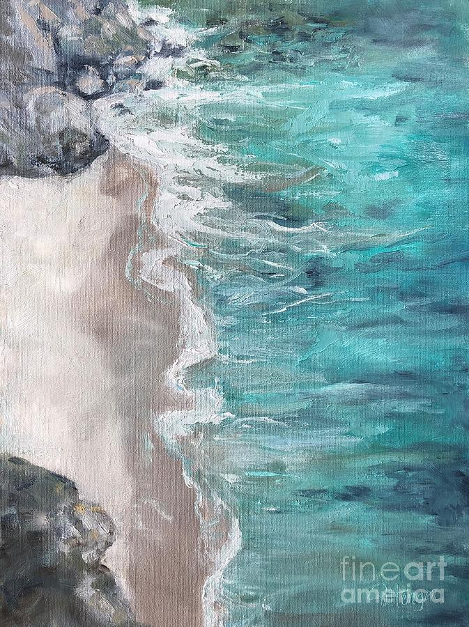 Soothed By The Sea Painting