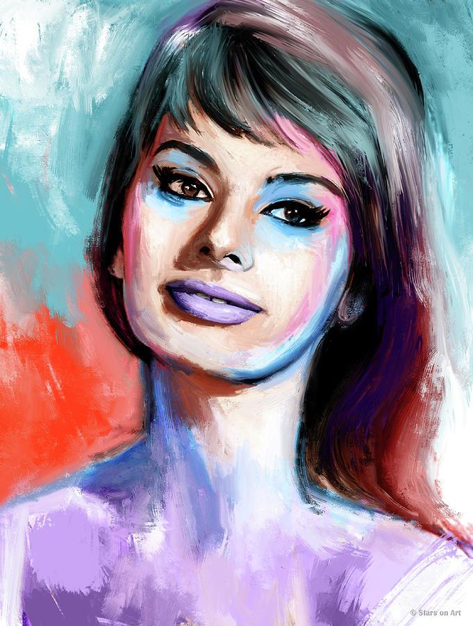 Sophia Loren Portrait Painting