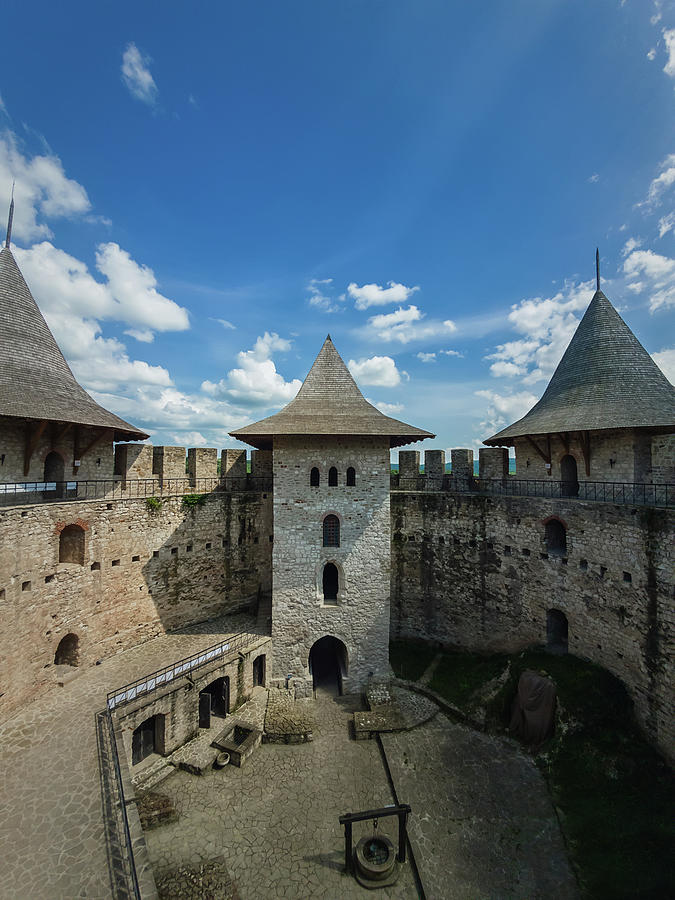 Fortress Photograph - Soroca Fortress by PsychoShadow ART