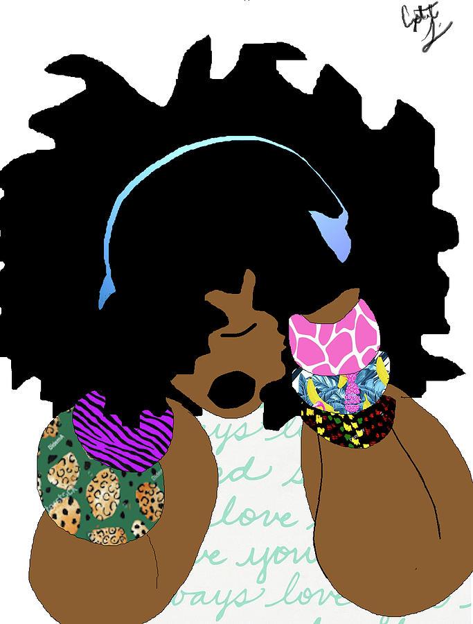 Soul Child Digital Art by Crystal Guidry