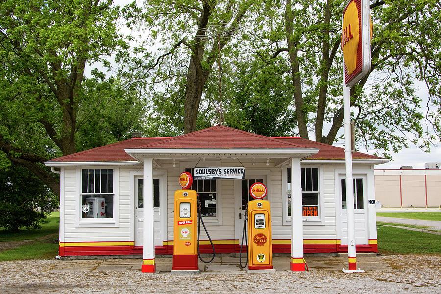 Soulsbys Gas Station Photograph