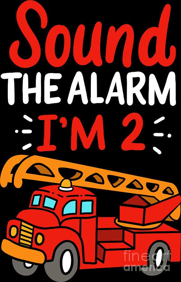 Sound the Alarm.. First Birthday Baby Boy.. Firefighter High Chair Banner.. Fireman..