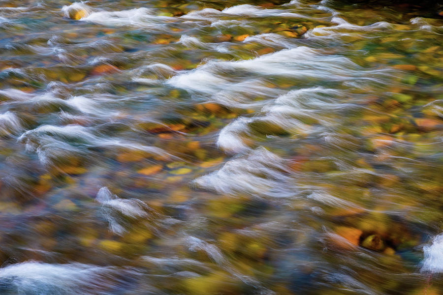 South Boulder Creek In Living Color Photograph