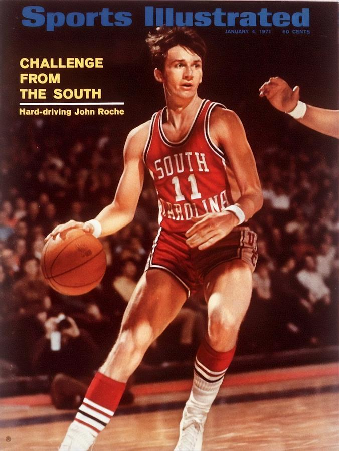 South Carolina John Roche... Sports Illustrated Cover Photograph by Sports Illustrated